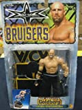 WCW Bruisers Series Goldberg with Spear Action Catapult Base by Toy Biz 1999