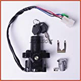 XMT-MOTO Ignition Switch Lock Keys For YAMAHA YZF R1 2002-2003、2007-2011,YAMAHA YZF R6 2006-2011,YAMAHA YZF FZ6 FZ6S FZ6N 2004-2010,YAMAHA FJR1300 2001-2010