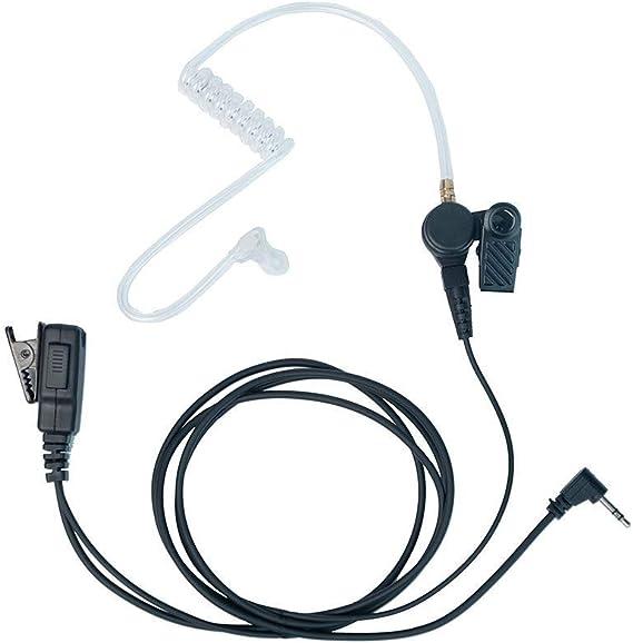 Police Earpiece Headset Mic for Motorola MD200R MD200TPR MS350R XTR446 FR50 FR60