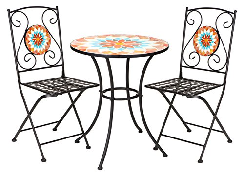 Bistro Mosaic (Winsome House Mosaic Bistro Set)