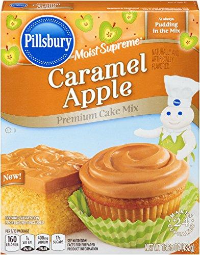 pillsbury-moist-supreme-caramel-apple-flavored-premium-cake-mix-1525-ounce-pack-of-12