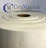 CeraMaterials Kiln Shelf Liner(Ceramic Fiber Paper)(Standard Grade)(1/8''x24''x25')