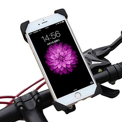 Novpeak Motorcycle Phone Mount Holder with USB Charger Port