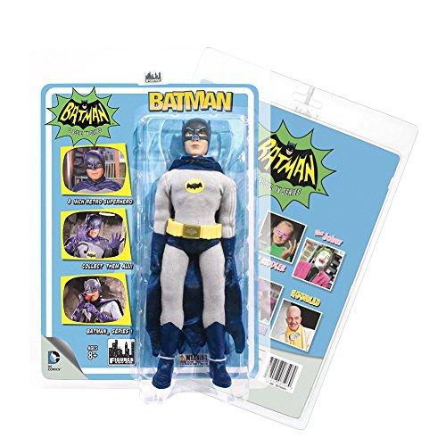 Official Batman 1966 Classic TV Show Series Retro Batman Adam West Action Figure
