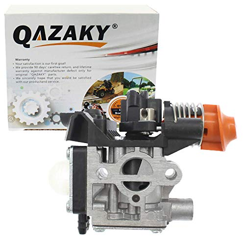 QAZAKY Carburetor Replacement for Stihl FS94 KM94 Strimmer String Trimmer Weedeater Chainsaw Zama RC2-S243A 617C 4149-120-0600 41491200600 Carb