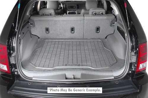 Dura Liner All Weather 2011-2012 Jeep Grand Cherokee Grey Cargo Floor Mat by ACT
