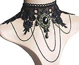 Nataliya Choker Necklaces (Vintage Lace Choker)