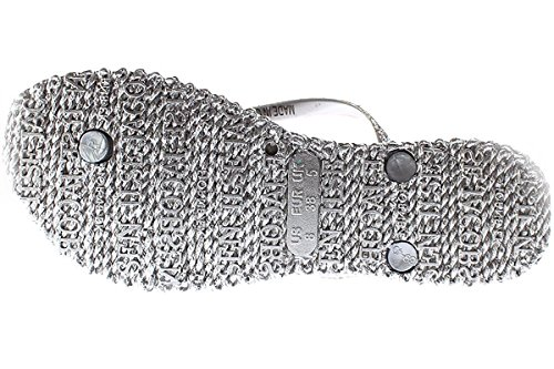Sandals Cheerful JACOBSEN Silver 01 ILSE Metallic TRpBSnPwn