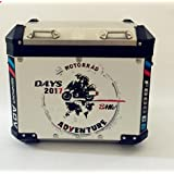 Amazon 2pcs reflective panniers decal kitsticker for bmw year 2017 2x gs r1200 adventure motorcycle sticker decal kit adventure for touratech panniers gumiabroncs Gallery