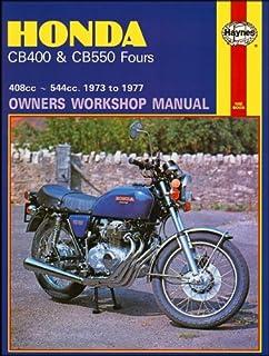 honda cb400 and cb550 1973 77 owners workshop manual haynes rh amazon com 76 CB550 Cafe 76 CB550 Orange