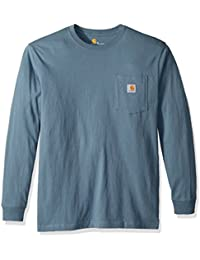 Men's Workwear Pocket Long Sleeve T Shirt K126