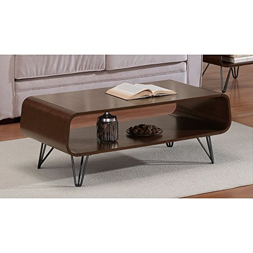 Modern Astro Mid Century Coffee Table Rectangular Scratch And Mar Resistant Medium (Del Mar Coffee Table)