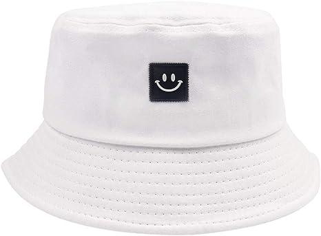 MDKZ Gorra Sombreros/Gorras Verano Sonrisa Diseño De La Cara ...