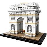 LEGO Architecture Arc De Triomphe Building Kit, 386 Piece