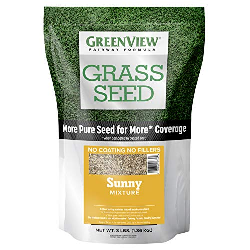 GreenView 2829339 Fairway Formula Grass Seed Sunny Mixture - 3 lb.