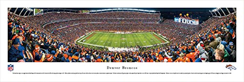 Denver Broncos - 50 Yard - Blakeway Panoramas Unframed NFL - Framed Wall Denver Broncos