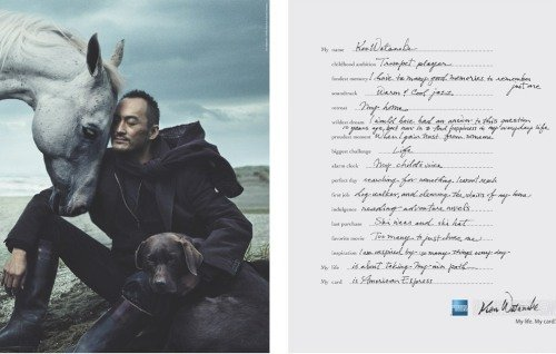 My American Express >> Amazon Com Print Ad With Ken Watanabe For American Express