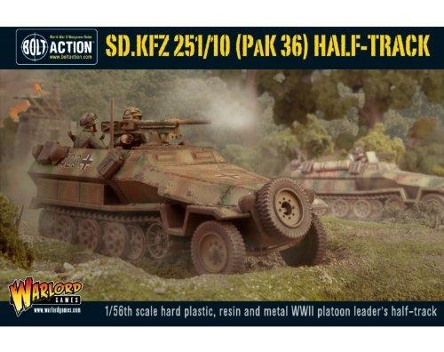 Sd.kfz 251 10 Then 36 Half Track Tank Miniature (Pak Army The Best)