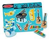 Melissa Doug Musical Instruments Best Deals - Melissa & Doug Musical Instruments Sound Puzzle - Wooden Peg Puzzle (8 pcs)