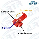4PCS ARTR 50W 6ohm Load Resistors - Fix LED Bulb Fast Hyper Flash Turn Signal Blink Error Code