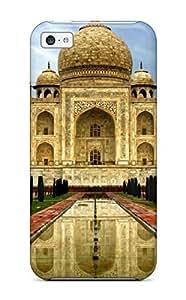 Cute Appearance Cover/tpu HlfQueH5137bkaMQ Taj Mahal India Case For Iphone 5c