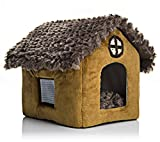 OSPet Portable Dog House Warm And Cozy Indoor / Outdoor, Great For Dogs, Cats, Kittens, Puppies, and Rabbits