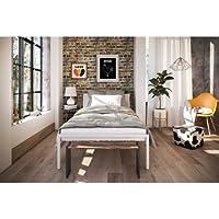 Novogratz The Hideaway Storage Bed, Twin, White