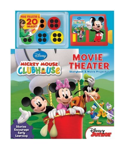 Disney Mickey Mouse Clubhouse Movie Theater: Storybook and Movie Projector by Disney Mickey Mouse Clubhouse (2012-08-07)