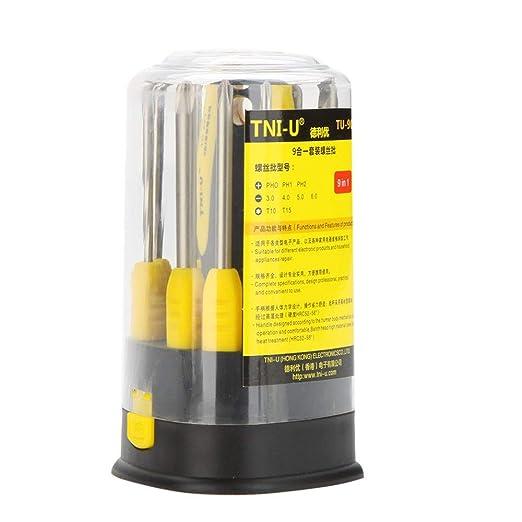 Value-Home-Tools - TU-901 9 in 1 Precision Screwdriver Set Flathead ...
