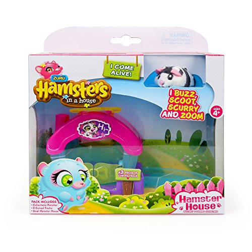 ZURU Hamster in House Playset (Hamsters In A House Playset Ultimate House)