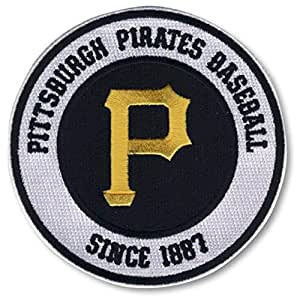 Emblem Source Pittsburgh Pirates Round Secondary Team Logo Patch