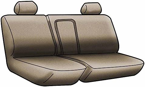 Blue with Black Sides Coverking Custom Fit Rear 60//40 Bench Seat Cover for Select Chevrolet Silverado 1500 Models Spacermesh 2-Tone
