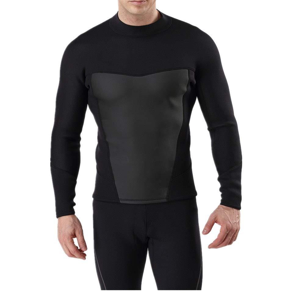 grand Combinaison de surf pour hommes Combinaison complète de surf pour hommes, combinaison de surf pour le surf, la plongée en apnée et la plongée sous-marine, pratique à enfiler Combinaison néoprène 3mm