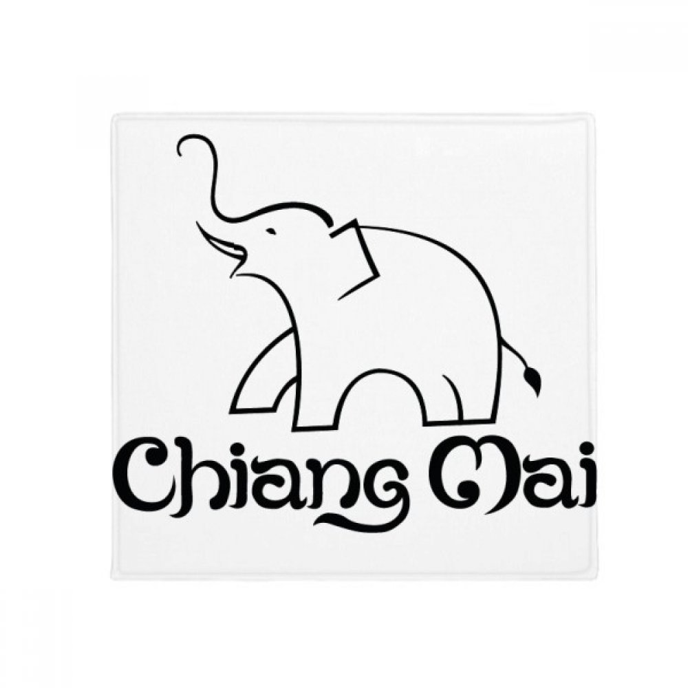DIYthinker Thailand Easy Elephant Shield Anti-Slip Floor Pet Mat Square Home Kitchen Door 80Cm Gift