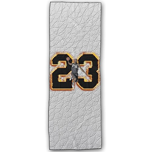 Duola King Swingman #23 Durable Yoga Mat Towel