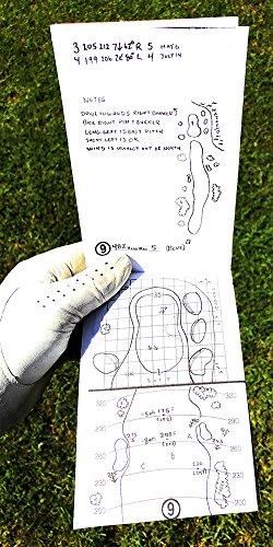 Emblemedia Golf Yardage Book (4 Pack) PGA Template 2019 USGA Conforming by Emblemedia (Image #2)