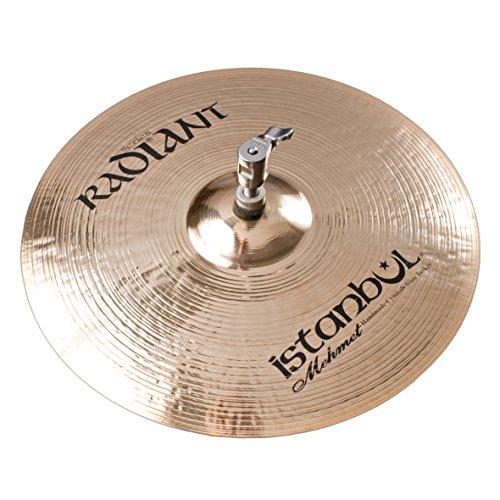 Istanbul Mehmet Cymbals Modern Series R-HM14 14-Inch Radiant Medium Hi-Hat Cymbals ()