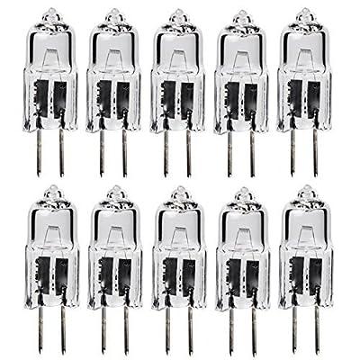10Pack - 20 Watt T3 G4 Base 12 Volt Light bulb 20W 12V Landscape