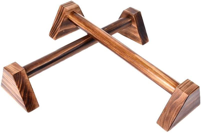 rutschfeste Push-Up Bars Handstandbarren f/ür Krafttraining und Calisthenics Liegest/ützgriffe mit ergonomischem Holz Griff learnarmy 1 Paar Push Ups Doppelstange Holz