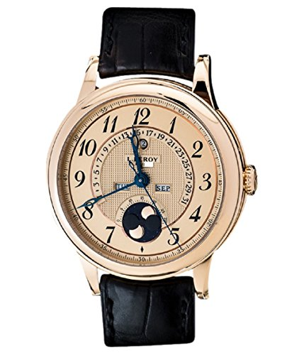 L. Leroy 18K RG Retrograde Perpetual Calender Moonphase Grand Comp