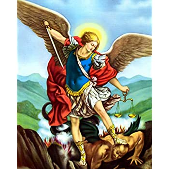 Amazon.com: Saint Michael the Archangel Angel - San Miguel