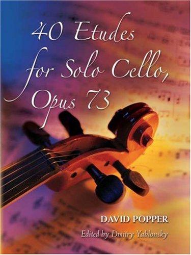 Download 40 Etudes for Solo Cello, Opus 73 (Dover Chamber Music Scores) ePub fb2 ebook