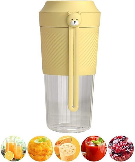 N Mini Batidora Electrica con Mango de Silicona, Vidrio de ...