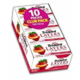 Trident Layers Sugar-Free Wild Strawberry & Tangy Citrus Gum, 14 Pieces - 10 pk. (pack of 6)