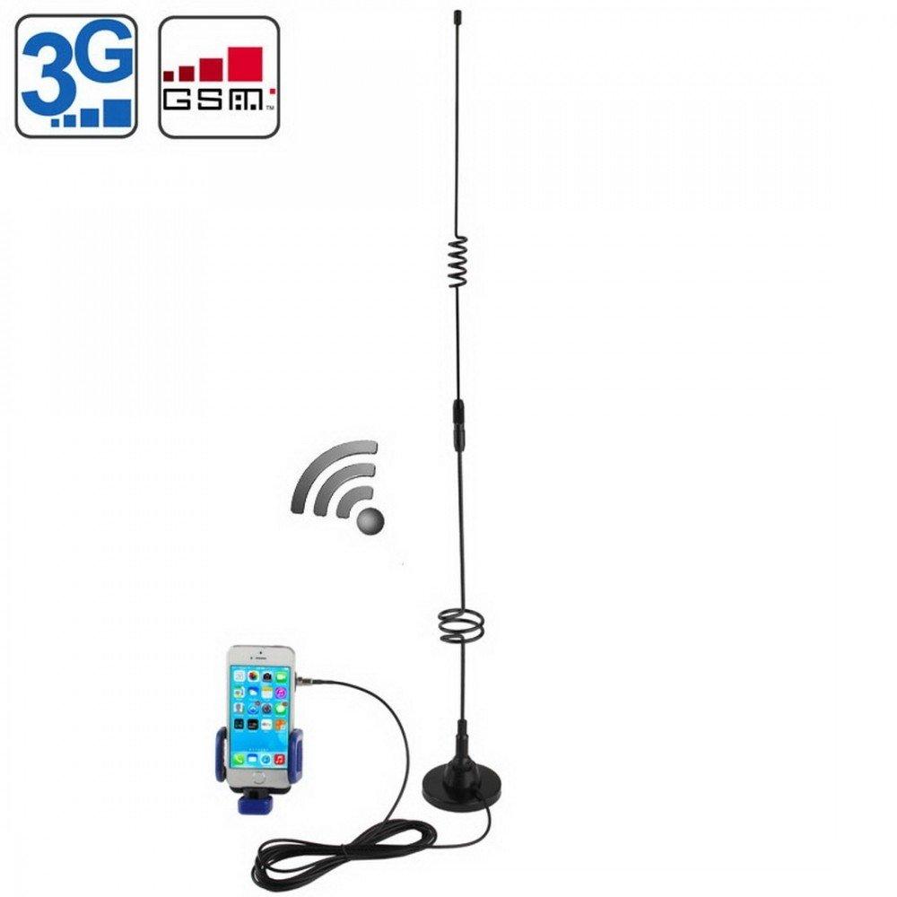 Pack Antenne 11dBi FME (3G+gsm+CDMA) & Support universel Coupleur Téléphone: Amazon.es: Electrónica
