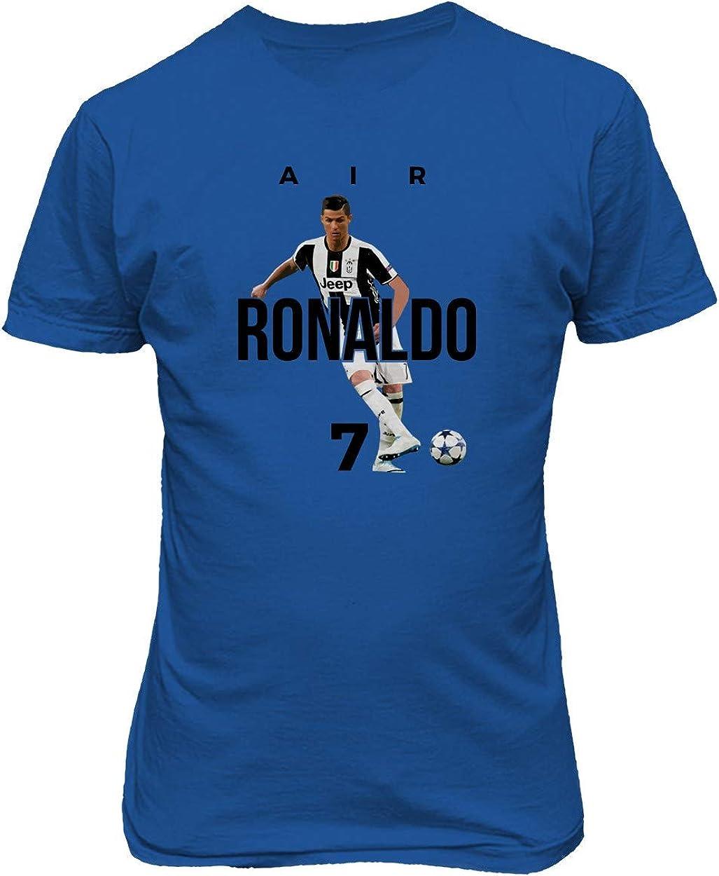BTA Apparel Neu Fu/ßball Air Ronaldo CR7 Cristiano Ronaldo Juve Herren T-Shirt