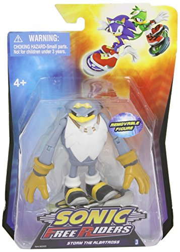 Sonic Free Riders 3.5 Inch Action Figure Storm (Sonic Free Riders Sonic)