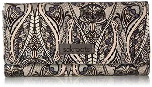 Sakroots Artist Circle Snap Trifold Wallet, Dove Soulful for sale  Delivered anywhere in USA