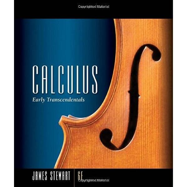 Calculus Early Transcendentals Stewart James 9780495011668 Amazon Com Books