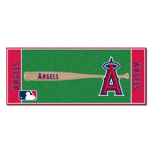 Angeles Rug Football Los - FANMATS MLB Los Angeles Angels Nylon Face Football Field Runner